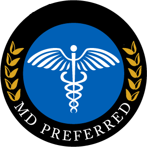 "Recognized as a ""MD Preferred"" Firm"